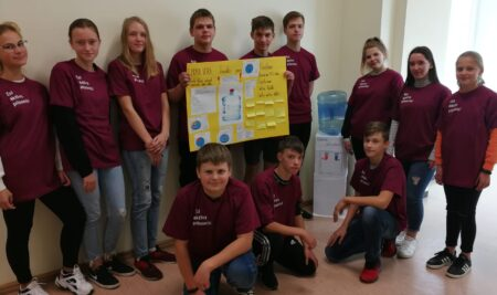 Pilsoniskās līdzdalības projekts Ilūkstes Raiņa vidusskolā